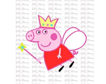 Peppa Pig,SVG, Cut Files, Cricut, PNG, Silhouette SVG