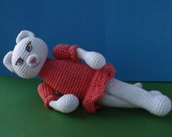 cat knitted crochet