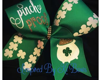 St. Patrick's Day Cheer Bow