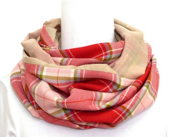 Light Fall Spring Snood Scarf