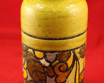 Vintage Aldo Landi Bitossi Vase,Rosenthal netter Italy