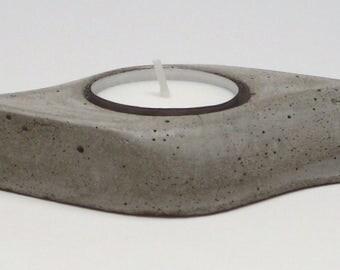Concrete light holder tea / Desing concrete / modern concrete light holder tee