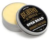 Beard Balm / Open Road / Patchouli / men with beards / beard balm / beard care / gifts for men / gifts for him / mens grooming / Beirdo