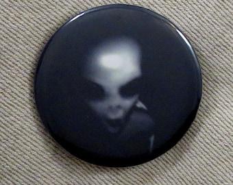 Grey Alien Pin