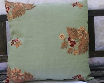 22x22 Green Tea Pillow
