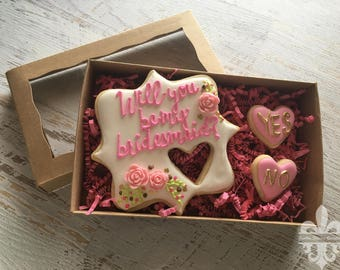 Will You Be My Bridesmaid? Cookie Set