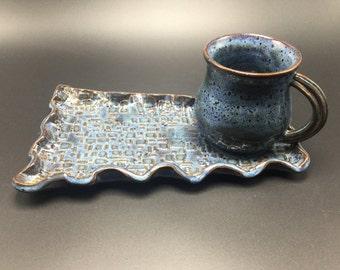 Plate and mug set