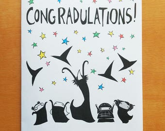 ConGRADulations card