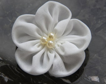 Wedding Hair Flower Clip// Bridal Hair Flower Clip// Bridal Head Piece// Wedding Hair Accessories/ / Bridal Hairpiece//  Hair Piece Wedding