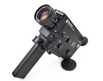 Sankyo XL 320 Supertronic Cine Camera with 10-30mm f/1.2 Macro Lens c. 1978-81