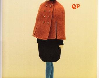 Momoko Doll E Pattern Japanese PDF Dress Coat\Jacket\Manteau