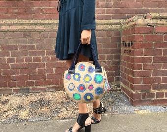 Bohemian shoulder bag/hippie beach bag/trendy shoulder bag/boho festival bag/hip bags for women/tote bag/tote everyday bag/ weekender bag