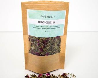Hormone balancing herbal tea -PMS -Menopause - Irregular Cycles