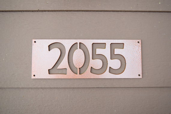 House number sign custom house number sign home address number