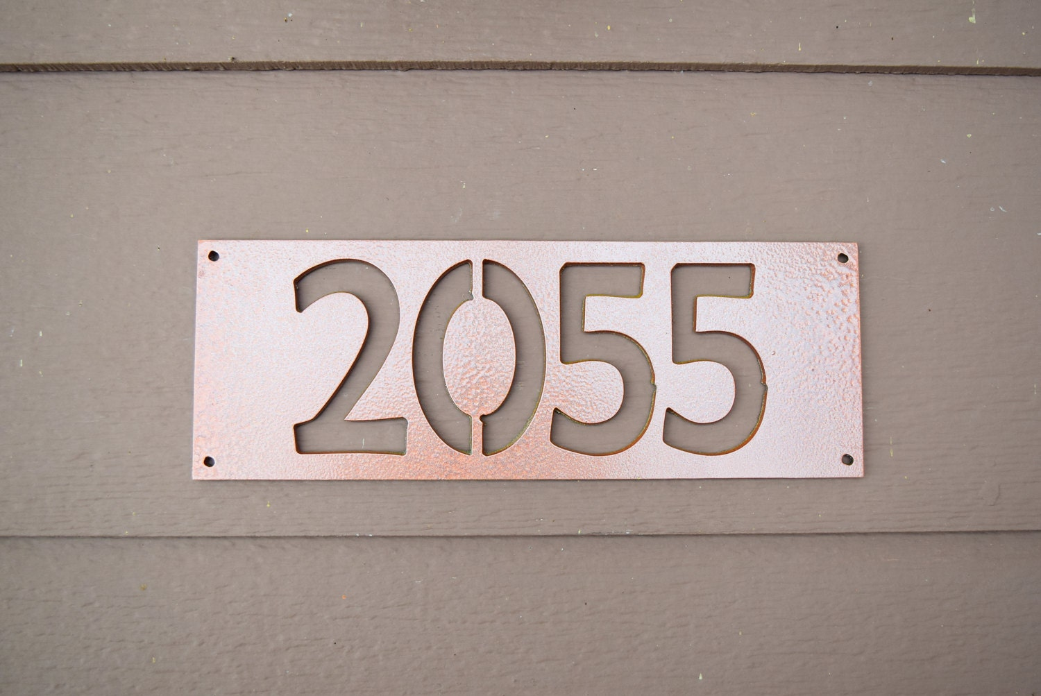 House number sign custom house number sign home address - Decorative house number signs ...