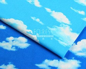 Cosmo 100%cotton blue sky