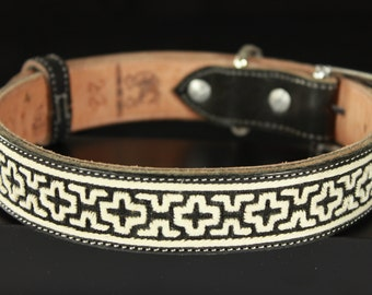 Hand Woven Leather Collar