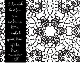 Adult Coloring Pages Book Bible Journaling Color Verses