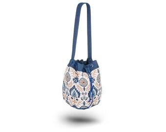 City Bucket Bag Oversized Bag Socca Tapestry Etno