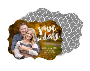 Embers - Boutique Save the Date Card (25 pack)