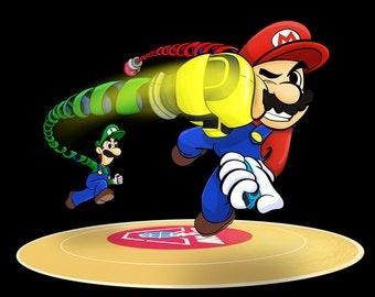 Mario Shirt Luigi Shirt ARMS Shirt Nintendo Switch Shirt Nintendo ARMS Super Mario Bros Shirt Luigi Wins
