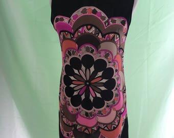 Beautiful 1960's Silk Emilio Pucci Shift Dress