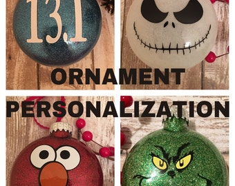 Add Personalization To Any Ornament