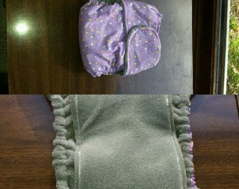 Large (22-30lbs) Fitted cloth diaper