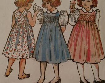 Mary Dee Size 3-4. Size three has been cut.  Instructions included