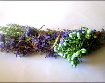 Lavender And Nevada Sage Smudge Stick~Ceremonial Smudge~Ritual Smudge~Wicca~Wiccan Smudge~Pagan Sage Stick~Altar Tools~Nevada Sagebrush