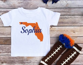 baby girl, Florida onesie ®, personalized, toddler girl shirt, baby onesie, baby clothing, daddys girl, baby gift, southern girl, cute shirt