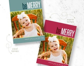 Simply Merry Holiday Photo Cards