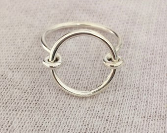"TAIPAN ladies ""Minimalist"" silver ring from genuine 925 sterling silver"
