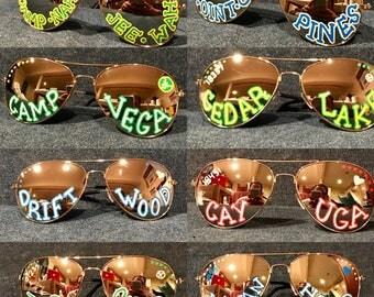 Custom Camp Sunglasses
