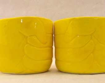 "Handmade ""Fist Bump"" punch or coffee or tea mugs"