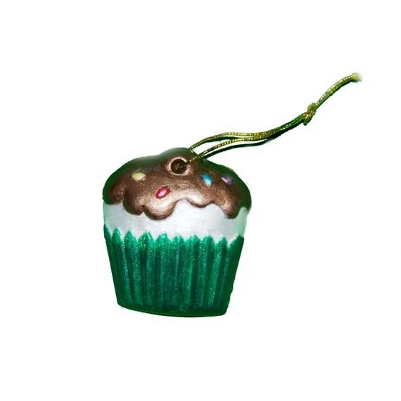Cupcake Christmas Tree Ornament