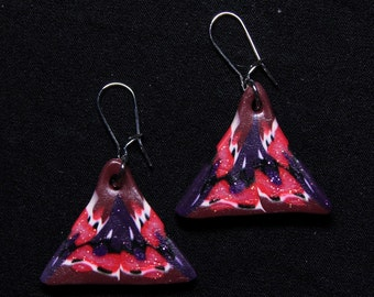 Lily-Rose triangle earrings