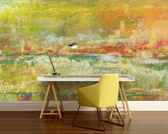 old wall wallpaper, old wall wall decal, color wall mural, painting mural, self-adhesive vinly, paint wall mural, abstract wallpaper