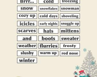 Winter Wordies