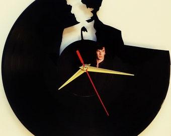 50% discount! Sherlock clock Sherlock Holmes clock wall clock