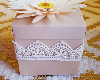 Vintage/Rustic Box Party favors