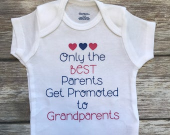Only the Best Parents, Baby Girl Onesie, Baby Shower Gift, Baby Girl Gift, Infant Clothing, Cute Baby Gift, Newborn Onesie