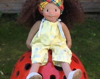 Tissia Natural Fiber Doll