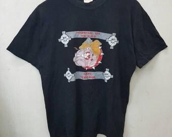 Rare House Of Pain House Of Texas Slave Texas Dog Hip Hop Style T-shirt