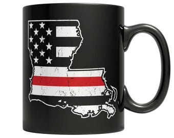 Limited Edition Firefighters - I fight what you fear Louisiana Brotherhood Mug