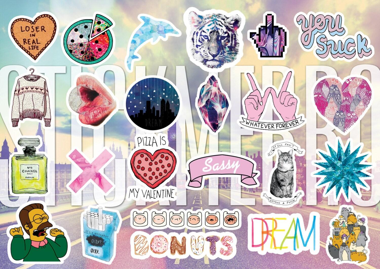 Famoso Planner Stickers printable Tumblr Stickers Planner Stickers  GQ78