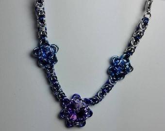 Hair Jewelery Blue/Purple