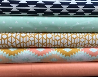 Arizona style fabric bundle, Quilting Fabric, Designer Fabric
