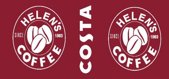 Personalised Costa Coffee Mug Any name and Message Brand New Great Gift