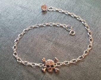 Scull and Crossbones Bracelet